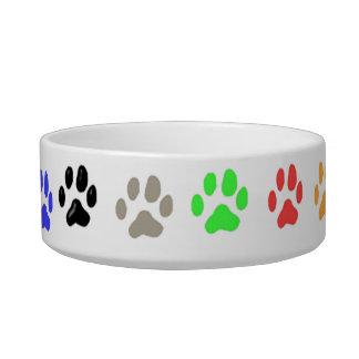 Paw Prints Pet Food Bowls