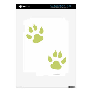 Paw Prints Skin For iPad 3