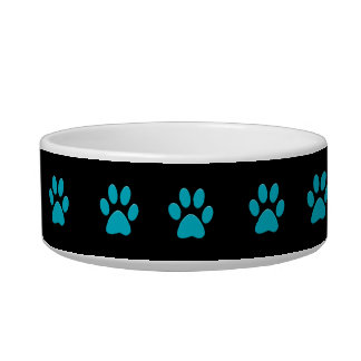 Paw Prints Small Dog Bowl