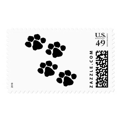 Paw Prints Stamp