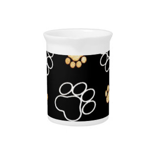 Paw Prints Templare Gifts Beverage Pitcher
