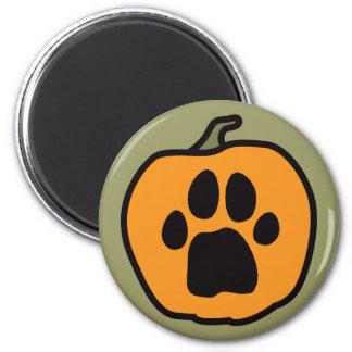 Paw Pumpkin Magnet 2