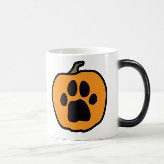 Paw Pumpkin Morphing Mug