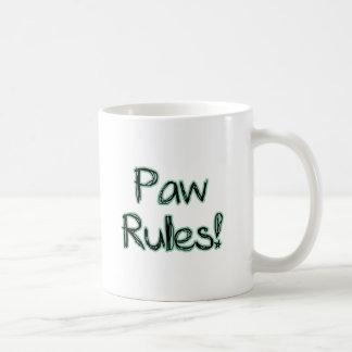 Paw Rules! Coffee Mug