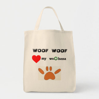 Paw SHAKA laka Tote Bag