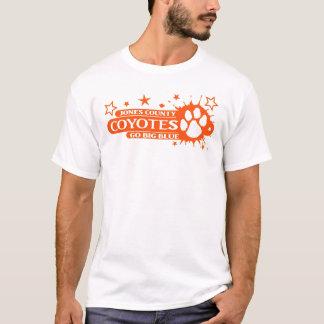 Paw Splash in Orange T-Shirt