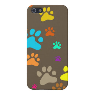 Paw Wallpaper Cover For iPhone 5