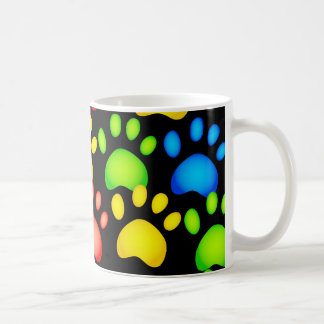 Paw Wallpaper Coffee Mugs