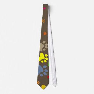 Paw Wallpaper Neck Tie