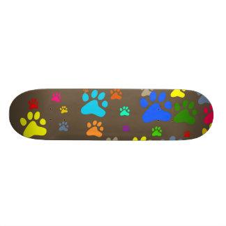 Paw Wallpaper Skateboard Deck