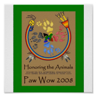 Paw Wow Poster