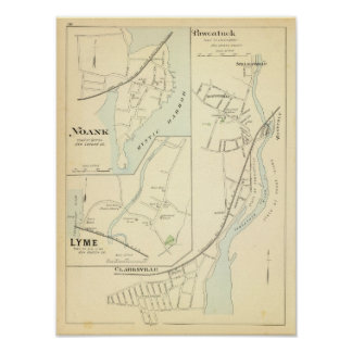 Pawcatuck, Noank, Lyme Póster