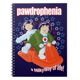 Pawdrophenia Mod Cats In Space Notebook