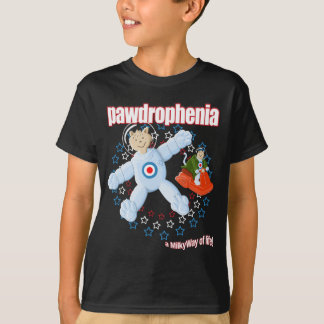 Pawdrophenia Mod Cats In Space T-Shirt
