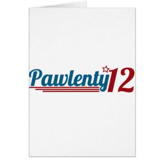 Pawlenty '12 card