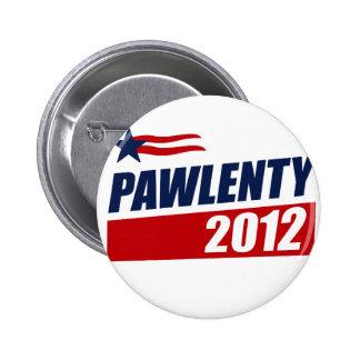 PAWLENTY 2012 PIN REDONDO 5 CM