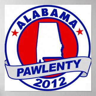 Pawlenty - Alabama Posters