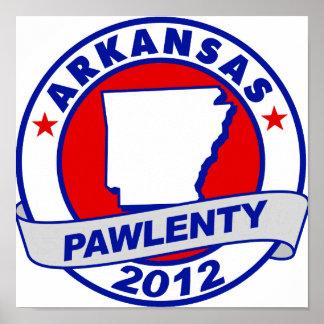 Pawlenty - Arkansas Posters