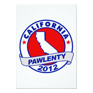 Pawlenty - california custom announcement