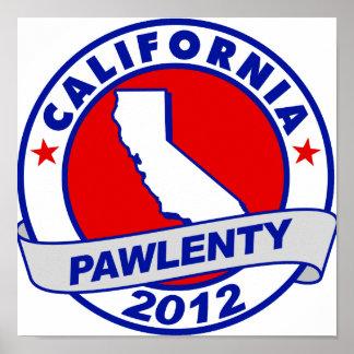 Pawlenty - California Posters