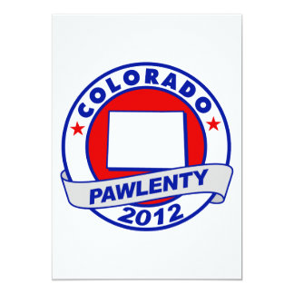 Pawlenty - colorado custom invitations