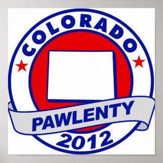 Pawlenty - Colorado Poster