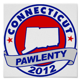 Pawlenty - Connecticut Posters