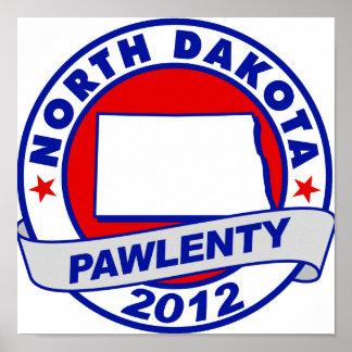 Pawlenty - Dakota del Norte Impresiones