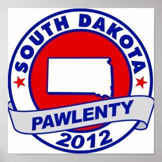 Pawlenty - Dakota del Sur Impresiones