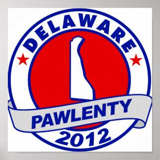 Pawlenty - Delaware Posters