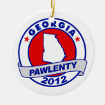 Pawlenty - georgia christmas ornaments