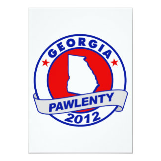 Pawlenty - georgia custom announcements