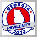 Pawlenty - georgia posters