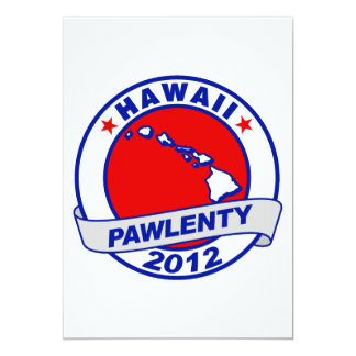 Pawlenty - hawaii custom invites