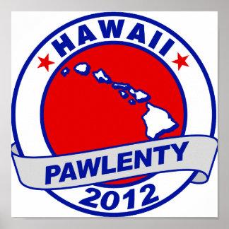 Pawlenty - Hawaii Poster