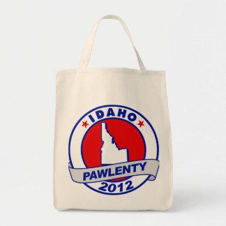 Pawlenty - idaho grocery tote bag