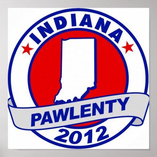 Pawlenty - Indiana Impresiones