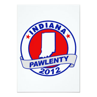 Pawlenty - indiana custom invites