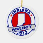 Pawlenty - Indiana Ornamento Para Arbol De Navidad