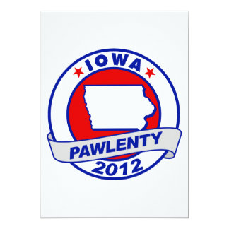 Pawlenty - iowa invites