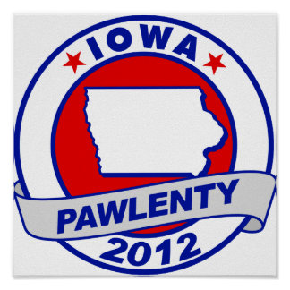Pawlenty - Iowa Posters