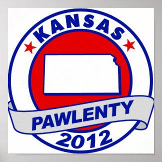 Pawlenty - Kansas Impresiones