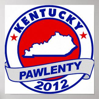 Pawlenty - Kentucky Posters