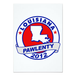 Pawlenty - lousiana announcement