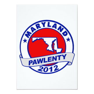 Pawlenty - maryland invitation
