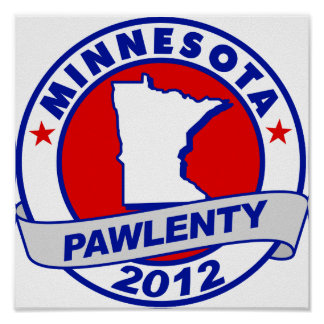 Pawlenty - Minnesota Poster