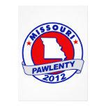 Pawlenty - Missouri Anuncio Personalizado