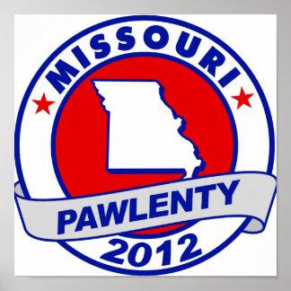 Pawlenty - Missouri Poster