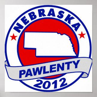 Pawlenty - Nebraska Posters