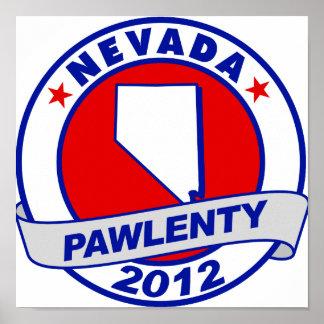 Pawlenty - Nevada Posters